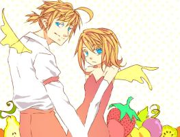 Fruity Kagamine by flouvl