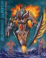 Burning Slayer by TheCreationist