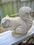 A Squirrel Statue by TheWizardofOzzy