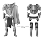 Armor Concept (Male) With Cape by SpeedFreakKai