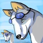 Huskyteer Icon by silverspitfire