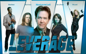 Leverage Wallpaper by nanuowns