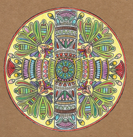 Mandala by leteneves