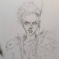 Vonn Sketch 8.26.15 - Uvaha by Tvonn9