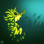 Solitary Seahorse II by FauxHead