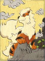 Arcanine by NightmarishWaltz452