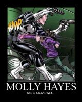 Molly Hayes Demotivator by NorthNightwatchmanJR