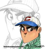 Baseball boy by renecordova