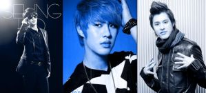 SeungHo Blue by tristanshawk