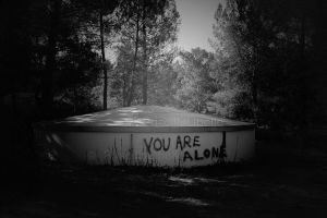 You Are Alone. by PriscillaLibelle