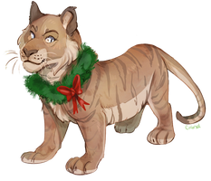 Wreathtiger by Colonels-Corner