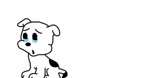 Pudgy sad for the death of Brian Griffin by MarcosPower1996