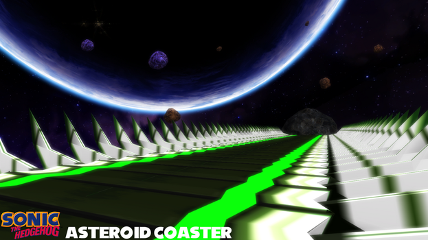 (MMD Stage) Asteroid Coaster Download by SAB64