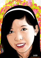 My First Vector Portrait by Paradigm-Zero