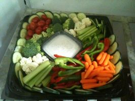 vegetable tray by zutarafan4evea