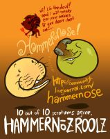 HAMMERNOSE by scrotumnose