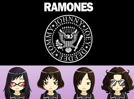 The Ramones by JackHammer86
