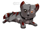 Crossfire Chibi by RonTheWolf