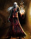 Elven Acolyte by DAA-TRUTH