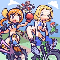 DOA EXTREME BMX BOXING by cap-tan