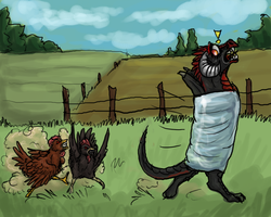 Of burritos and werechickens by firedanceryote