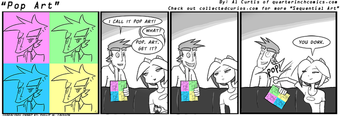Sequential Art... art competition by QuarterInchComics