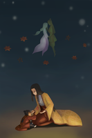 Kubo and the Two Strings by wittle-sana-chan