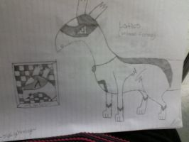 another version of latios by SlyLightning
