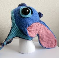 Stitch Hat by StrangeKnits
