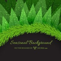Winter Seasonal Background Free Vector by vecree