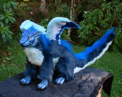 Bluefluff doll by zarathus