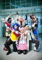 final fantasy sentai by chidori-sagara