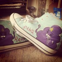Lumpy Space Princess Rawr Shoes by AnnoyinglyCute