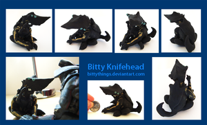 Bitty Knifehead by Bittythings