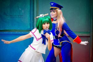 Lion:::::Macross Frontier:::: by Witchiko