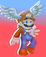 Wing Mario by raygirl12