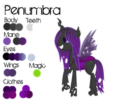 Changeling OC: Penumbra by VampTeen83
