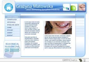 Dental page by graphonetics
