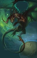 Zodiac Dragon . Taurus by The-SixthLeafClover