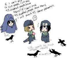 Some Crows - Gai by naruchibi