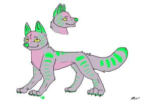 5 point wolf adoptable by Daisylasy3
