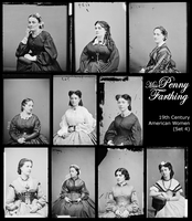 19th Century American Women 4 by MissPennyFarthing