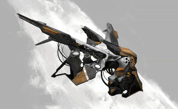 assault drone by Nookiew
