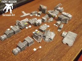 Front Mission - Enyo Mk109 (all parts) by Sermann