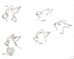 new charas. heads by SpyroGirl22