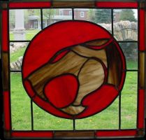 Thundercats Stained Glass Pane by AutobotWonko