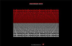 indonesia raya by indonesia