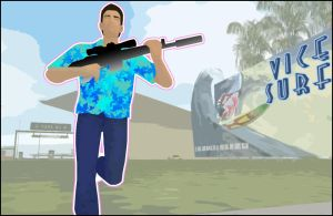 GTA Tommy Vercetti Getting Fit by CCPD
