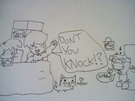 DON'T YOU KNOCK!!!! by Burnzy69