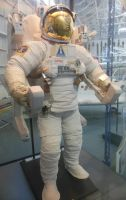 Space Shuttle EMU Suit with MMU by rlkitterman